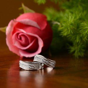 حلقه ست ازدواج نقره