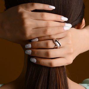 انگشتر نقره خاص لاکچری