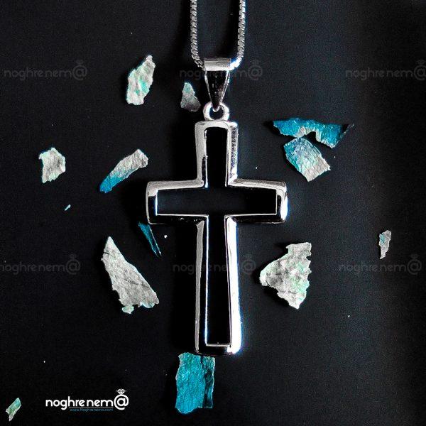 زنجیر و پلاک صلیب حضرت مسیح